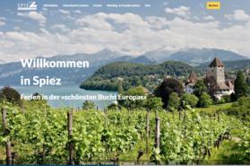 Startseite neue Webseite Spiez